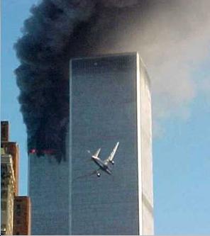 Il secondo aereo si schianta su World Trade Center