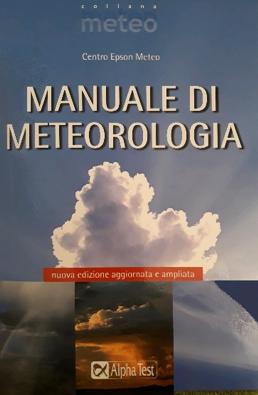 Copertina libro Manuale di Meteorologia